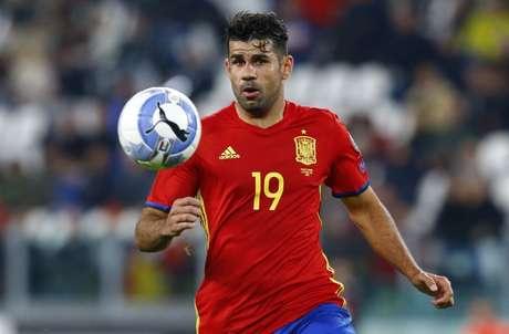 Diego Costa é um dos destaques do setor ofensivo espanhol