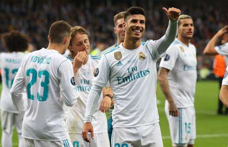 O meia Marco Asensio, do Real Madrid