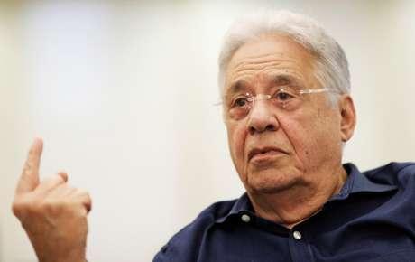 O cacique tucano e ex-presidente Fernando Henrique Cardoso