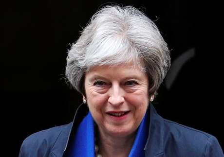 Primeira-ministra britânica, Theresa May 02/05/2018 REUTERS/Hannah McKay