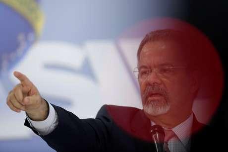 Ministro da Segurança Pública, Raul Jungmann 07/03/2018 REUTERS/Ueslei Marcelino