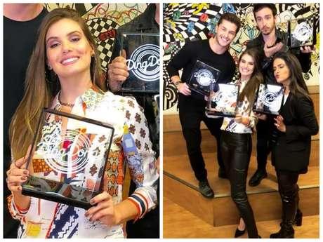 """Camila Queiroz participou do quadro """"Ding Dong"""" (Fotos: @camilaqueiroz/Instagram/Reprodução)"""