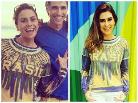 Giovanna Antonelli e Fernanda Paes Leme (Fotos: Instagram/Reprodução)