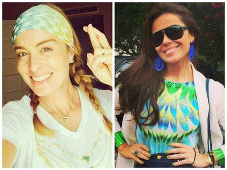 Angélica e Giovanna Antonelli (Fotos: Instagram/Reprodução)