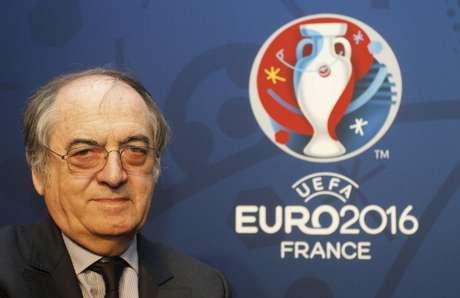 O presidente da federação francesa, Noel Le Graet