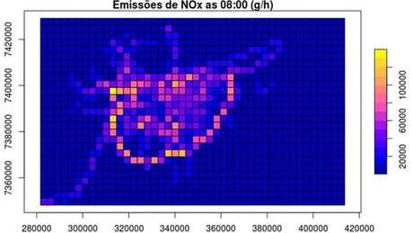 Veículos contribuem com mais de 70% do material que forma ozônio no ar da cidade, diz pesquisador