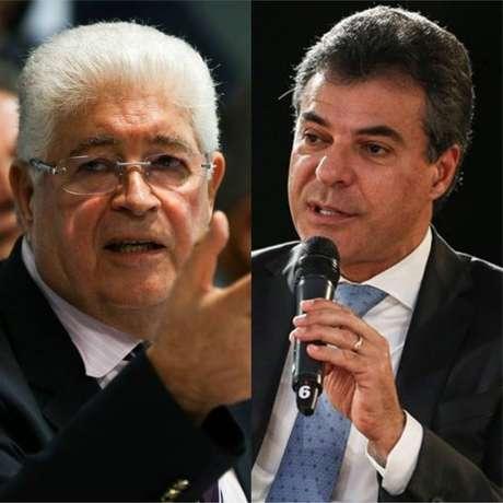Senador Roberto Requião, do MDB, e Beto Richa, do PSDB, aparecem como os principais nomes da disputa para o Senado