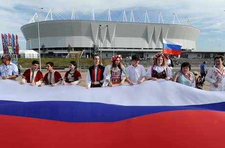 Comemoração do Dia da Rússia em Rostov  12/6/2018   REUTERS/Sergey Pivovarov