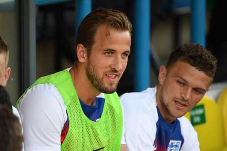 Harry Kane ficou fora do amistoso contra Costa Rica por lesão no tornozelo (Foto: Paul Ellis / AFP)