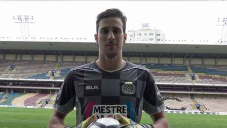 Um dos mais longevos do elenco, o goleiro Helton Leite estava no Botafogo desde 2014 (Divulgação)