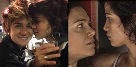 Nanda Costa com Lan Lanh, e Maura com Selma: o amor entre mulheres na vida real e na ficção