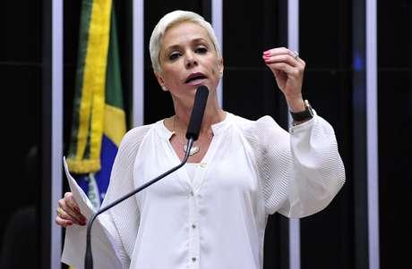 A deputada Cristiane Brasil