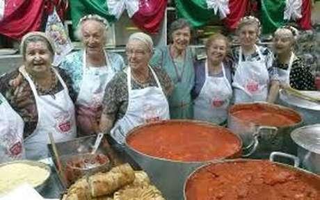 'Mammas' da Festa de São Vito