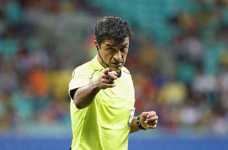 O árbitro Sandro Meira Ricci se tornou figura constante em competições da Fifa
