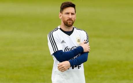 O astro da seleção argentina Lionel Messi
