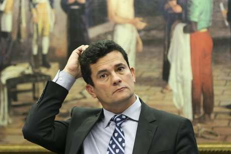 O juiz federal Sérgio Moro, que aceitou convite de Bolsonaro para ser ministro