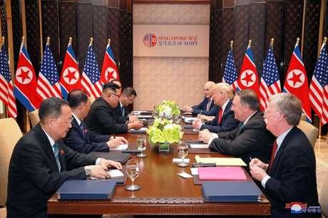 Líder norte-coreano pediu que Trump acabe com 'antagonismo'