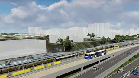 Óbras do BRT de Salvador, previsto para a Copa de 2014, devem demorar mais de dois anos para serem concluídas