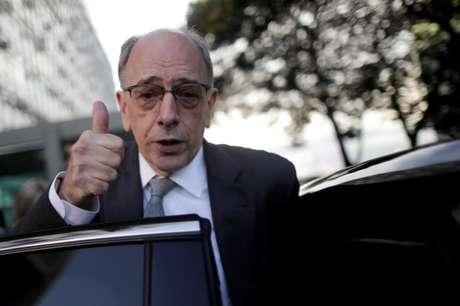 Pedro Parente, quando ainda era CEO da Petrobras, após reunião em Brasília, Brasil 16/01/2018 REUTERS/Ueslei Marcelino
