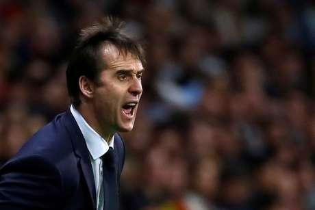 O técnico Julen Lopegui, demitido da Espanha