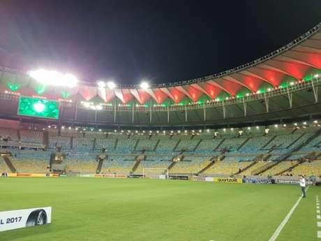 Fluminense ainda não perdeu no Brasileiro atuando no Maracanã (Reprodução / Twitter)