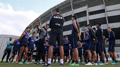 Glorioso junta as forças para produzir boa atuação nesta quarta-feira (Vítor Silva/SSPress/Botafogo)