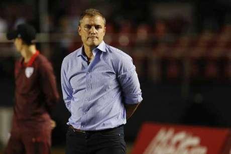 O técnico Diego Aguirre chegou ao São Paulo desacreditado e colocou a equipe no G4 do Brasileirão (Marco Galvão/Fotoarena)
