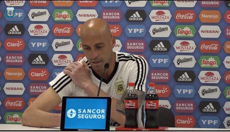 Caballero, 36 anos, será o titular da Argentina no lugar do lesionado Romero - FOTO: AFA