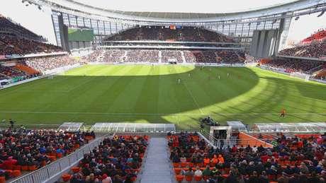 Estádio de Ecaterimburgo para a Copa do Mundo da Rússia