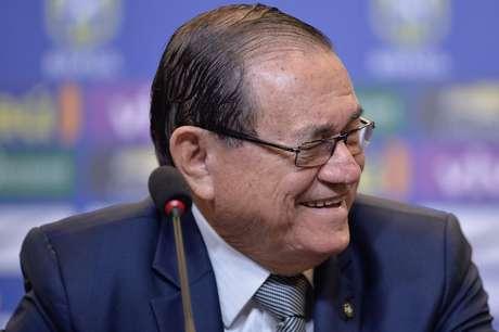 Coronel Nunes, presidente da Confederação Brasileira de Futebol (CBF)