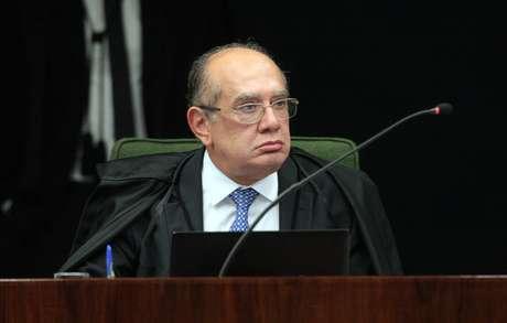 Ministro Gilmar Mendes durante sessão da 2ª Turma do STF