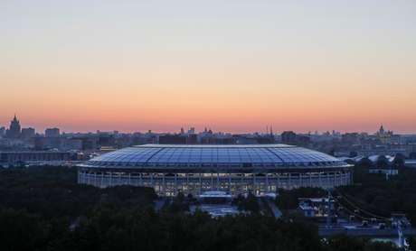 Estádio de Luzhniki, em Moscou