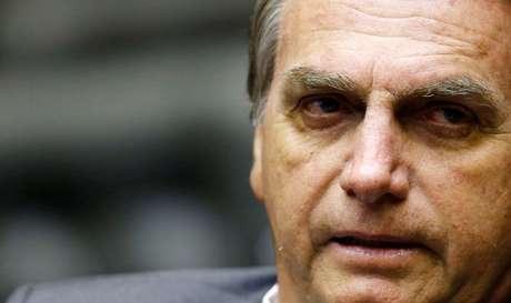 Pré-candidato à Presidência pelo PSL, deputado Jair Bolsonaro