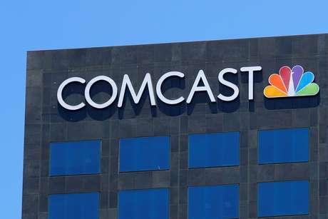 Logo da Comcast em prédio de Los Angeles  13/6/2018      REUTERS/Mike Blake