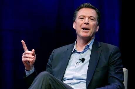 Comey concede entrevista em Washington  30/4/2018    REUTERS/Jonathan Ernst