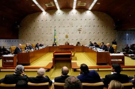 Vista geral de sessão do Supremo Tribunal Federal
