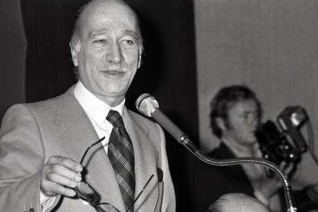 Giorgio Almirante pertencia ao partido de Benito Mussolini