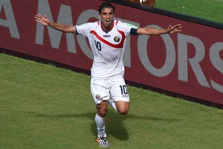 Bryan Ruiz acredita em outra ótima campanha da Costa Rica na Copa (Foto: AFP)