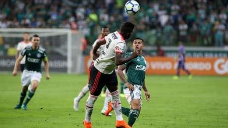 Flamengo empatou com o Palmeiras, na Arena Palmeiras, nesta quarta-feira (Luis Moura / WPP)