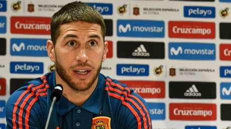 Sergio Ramos confirmou que sabia das conversas entre Lopetegui e Real Madrid