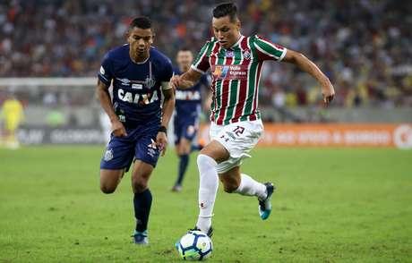 Santos bateu o Fluminense por 1 a 0
