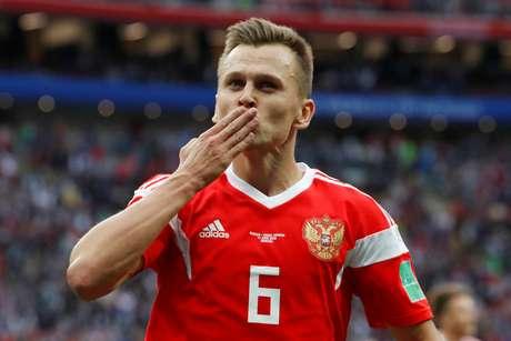 Denis Cheryshev é uma das armas da Rússia nessa Copa