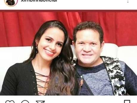 Joelma curtiu foto de Ximbinha com atual namorada