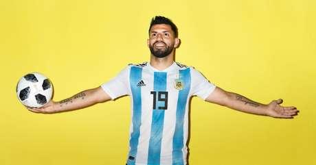 Sergio Aguero marcou três gols na era Sampaoli e ganhou a vaga que parecia distante - FOTO: Divulgação