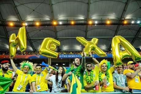 Pré-jogo de Brasil x Suíça