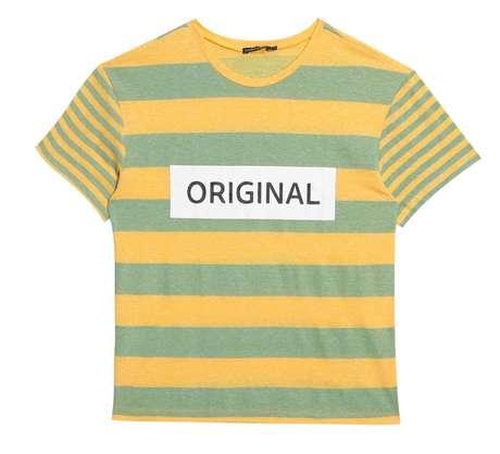 Mala de torcedor - Custa R$ 129 a blusa listrada da Love Dress:www.dressto.com.br.