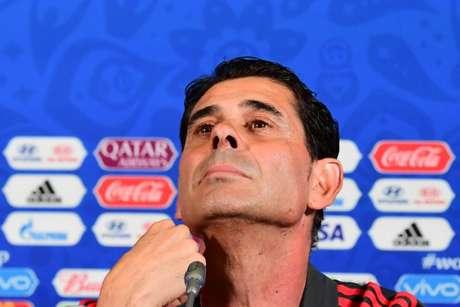 Hierro confirmou parte da equipe que enfrenta o Irã (Foto: Luis Acosta / AFP)