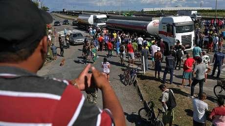 Senador Alvaro Dias apoiou greve dos caminhoneiros no mês passado
