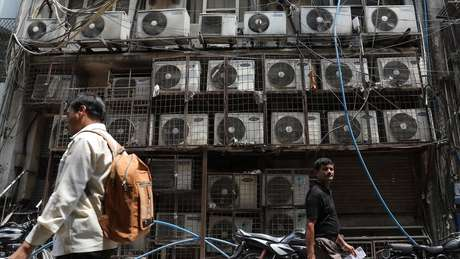 Ar-condicionado é essencial em Nova Déli (Índia), onde as temperaturas podem chegar a 50º C