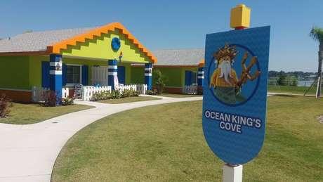 Legoland Beach Retreat tem chalés, piscina e restaurante - ideal para a família